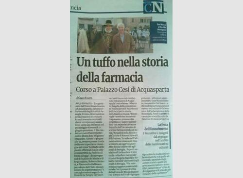 14 maggio 2016 - Nuovo Corriere Nazionale