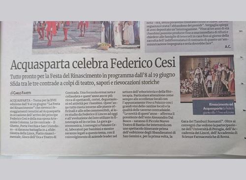 29 maggio 2016 - Nuovo Corriere Nazionale