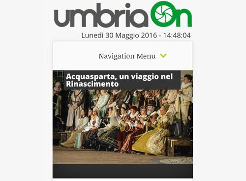 30 maggio 2016 - UmbriaOn